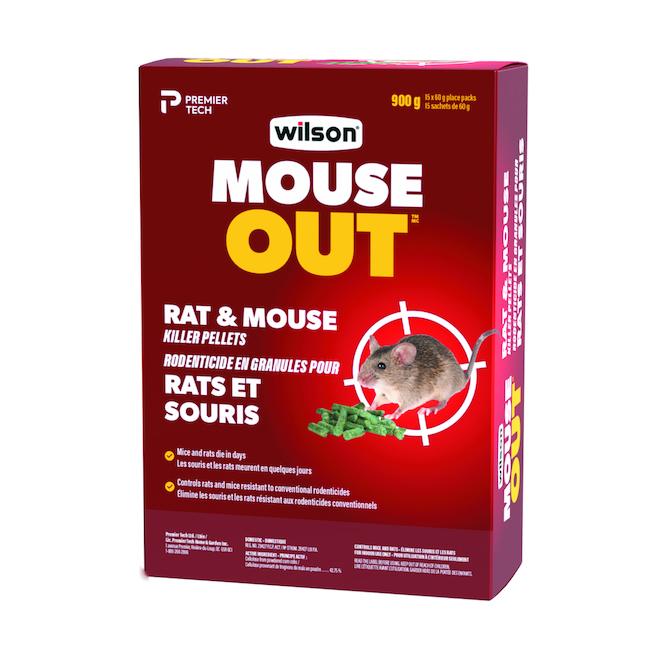 """Wilsarin"" Rat and Mouse Bait Pellets"