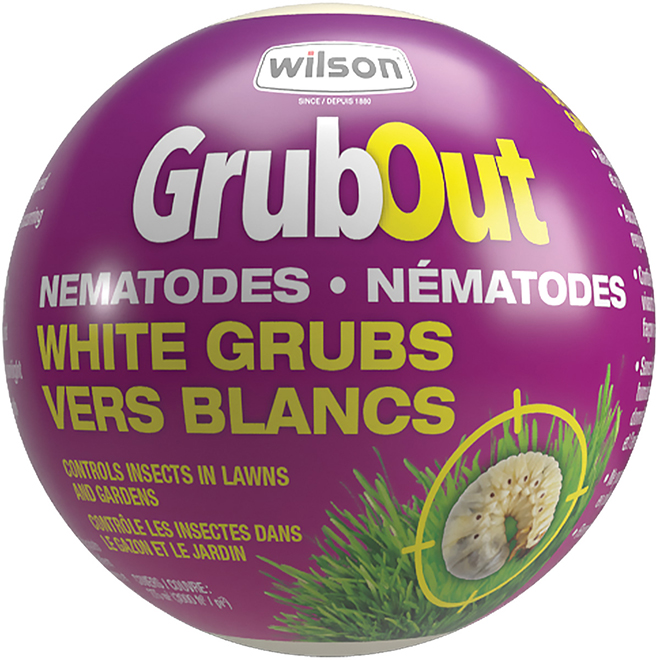 Insecticide pour nématodes, Wilson, GrubOut