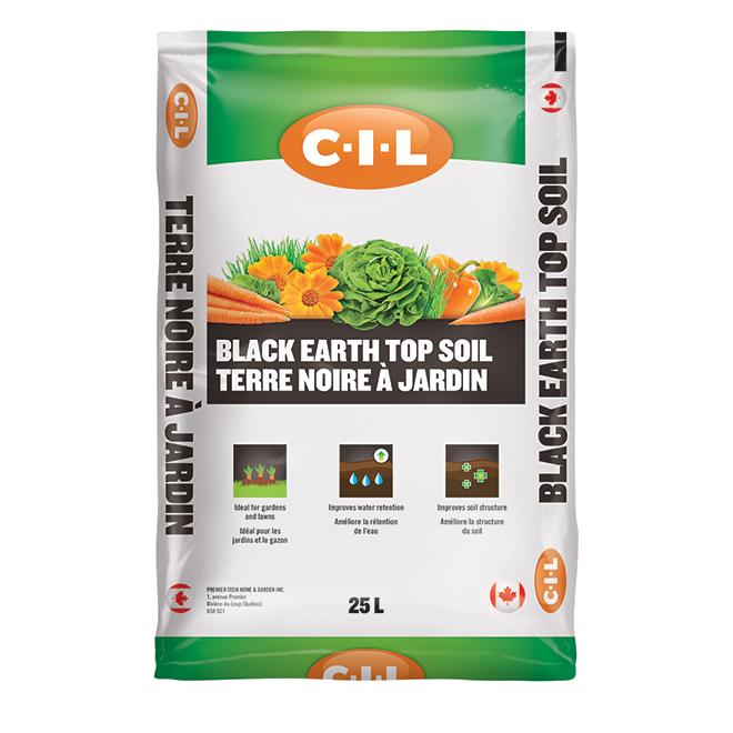 Terre noire à jardin C-I-L, 25 L