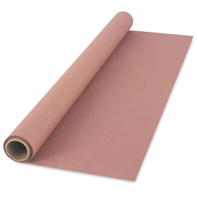 Papier construction polyvalent « Red Rosin », 36 po x 167 pi