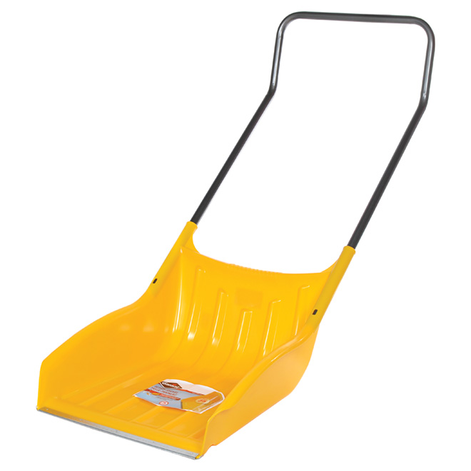 "Garant ""Alpine"" Sleigh Shovel - Poly/Steel - 22'' - Yellow"
