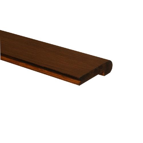 "Stair Bullnose Floor Molding 3.6"" x 6' - Bora"