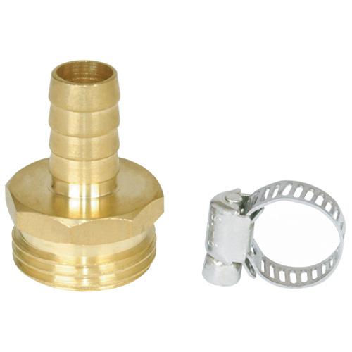 "Male coupling - 1/2"" - Brass"