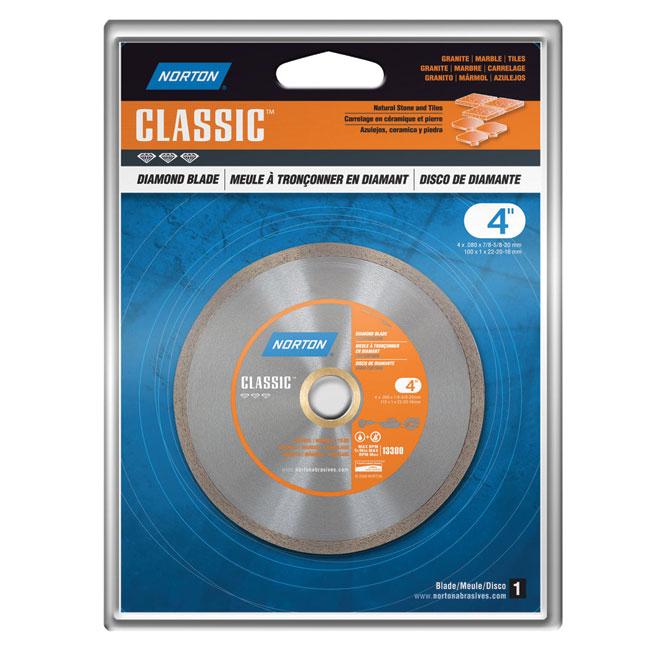 """Continuous Diamond Blade - """"Classic"""" - 4"""""""