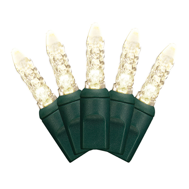 Set of 50 Lights - Interior/Exterior - LED M5 - Warm White