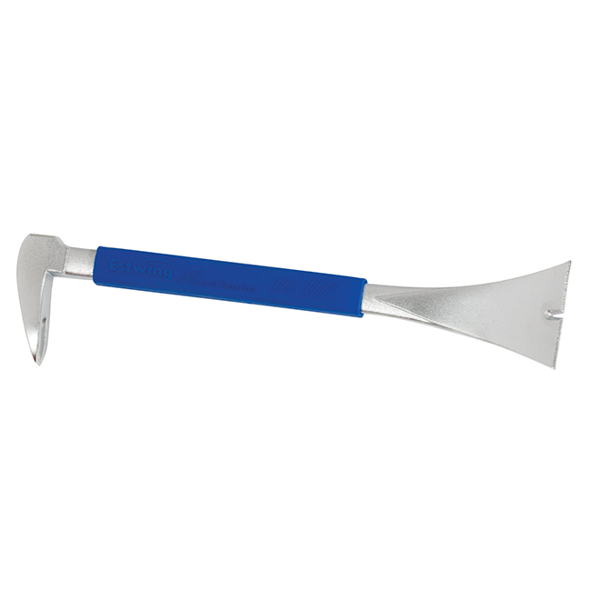 """Pry Bar - Moulding Puller - 10"""" - Blue"""