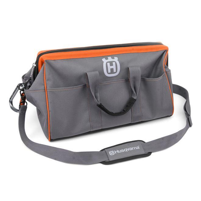 Husqvarna Chainsaw Accessory Bag - Orange and Grey