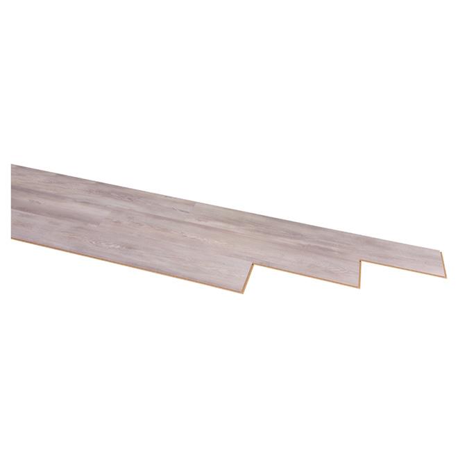 Plancher stratifié « Megaloc » 8mm, Pin Gris