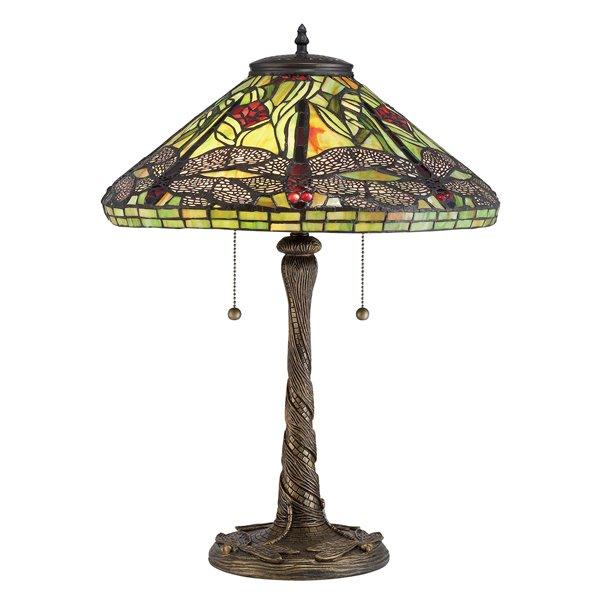 Fine Art Lighting Ltd. Tiffany 16-in x 24-in Table Lamp