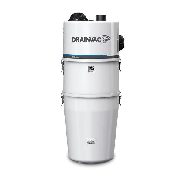 Drainvac Cyclonik Central Vacuum System Bagless 46L