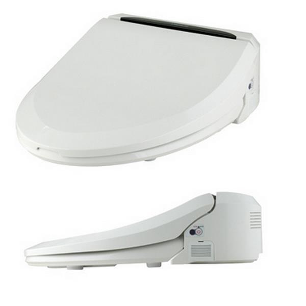 Siège de toilette bidet électronique Clean Touch, rond