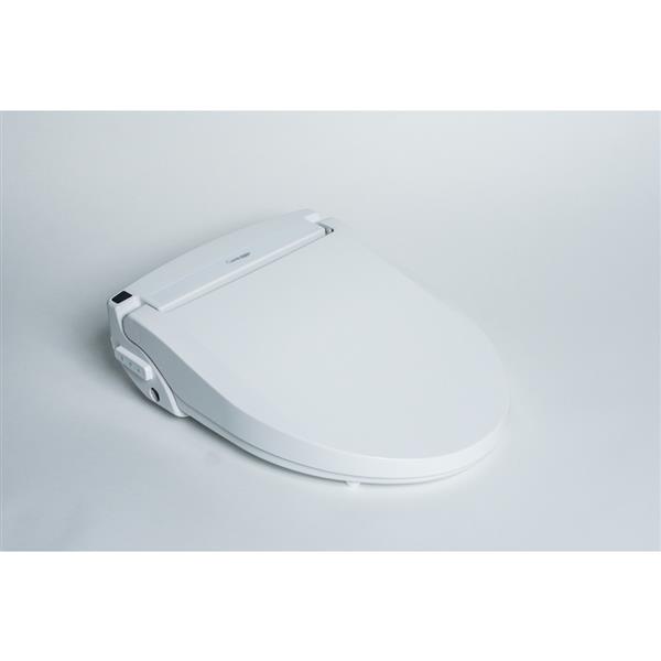 Brilliant Clean Touch White Round Electronic Bidet Toilet Seat Dailytribune Chair Design For Home Dailytribuneorg