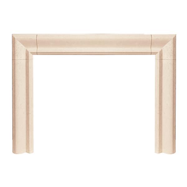 Historic Mantels Limited Builder Estate Fireplace Mantel Ivory