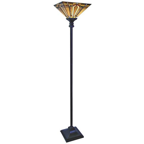 Fine Art Lighting Ltd. Tiffany Style Floor Lamp