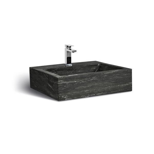 "Unik Stone Sink - Limestone - 24"""