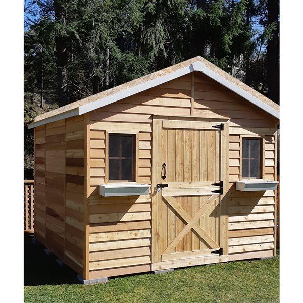 Cedarshed CedarHouse 10-ft x 16-ft Cedar Storage Shed