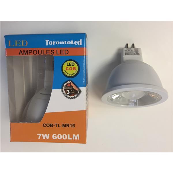 TorontoLed Bulb - MR16 - 7 W - 3000 K - 10-pack