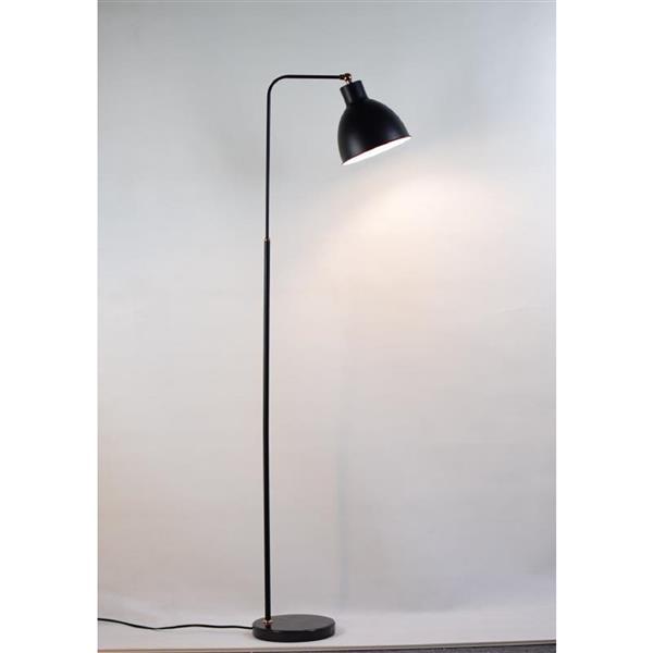 P.W. Design Yita Floor Lamp 59-in Metal Black