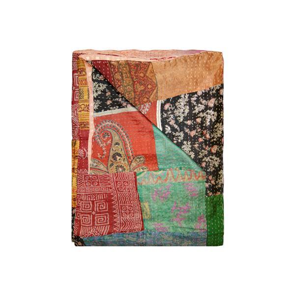 Kantha 50-in x 70-in 30023 Silk Throw