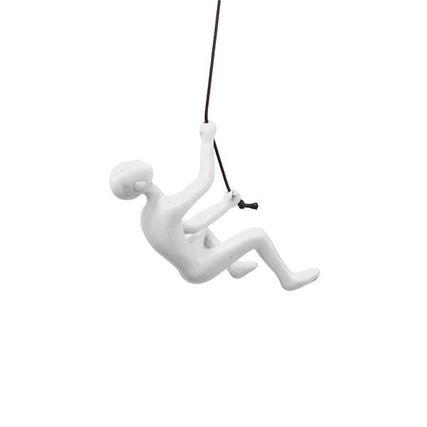 Grimpeur suspendue, blanc