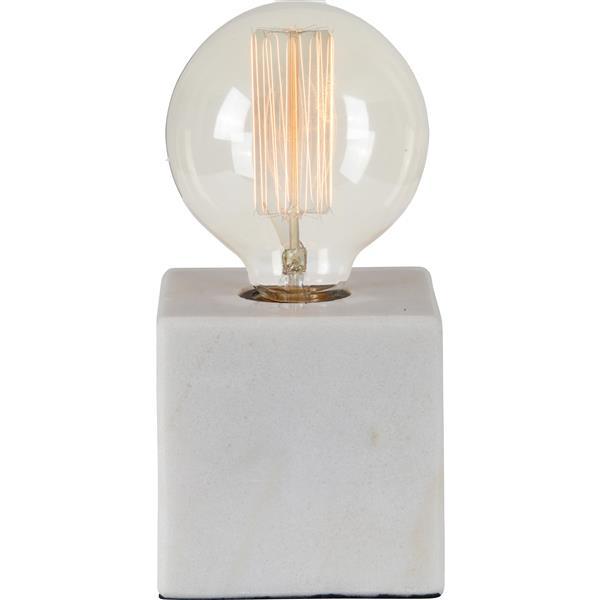 Lampe Willoughby, Notre Dame Design, tissu, blanc