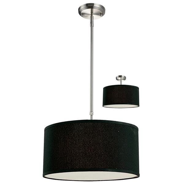 z lite suspension 3 lumi res albion 16 nickel bross. Black Bedroom Furniture Sets. Home Design Ideas