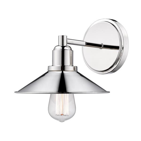 Applique pour salle de bain Casa, 1 lumière, nickel poli