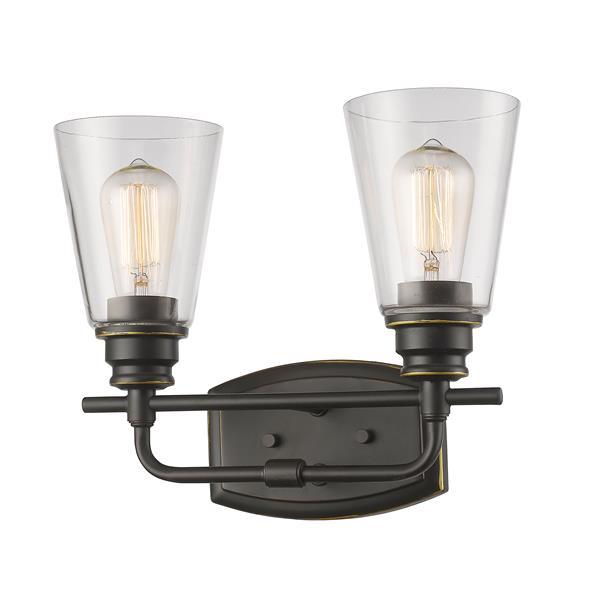 Z-Lite Annora 2-Light  Olde Bronze Vanity Light