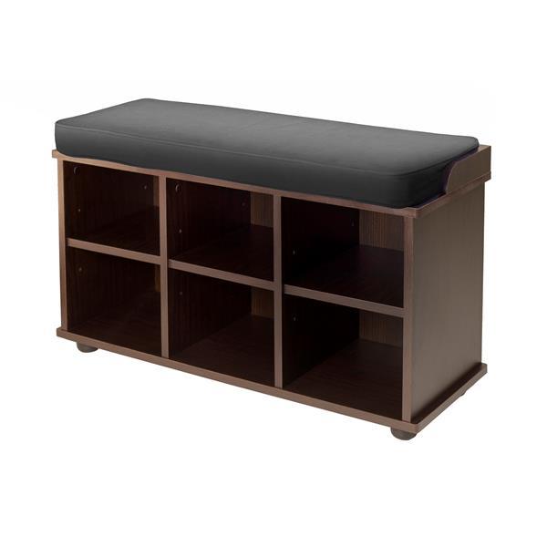 Brilliant Winsome Wood Townsend 19 17 In X 33 70 In X 12 52 In Dark Uwap Interior Chair Design Uwaporg