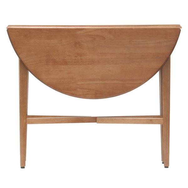 """Table à abattants Hannah, 42"""" x 29,5"""", bois, chêne"""