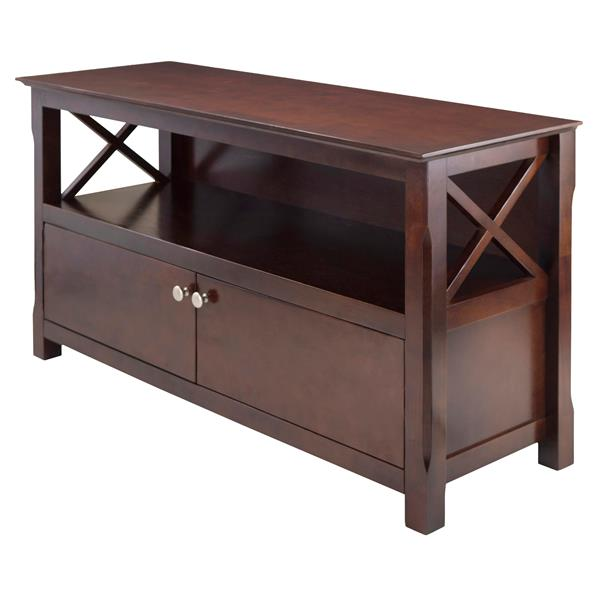 Winsome Wood Xola Cappuccino TV Stand