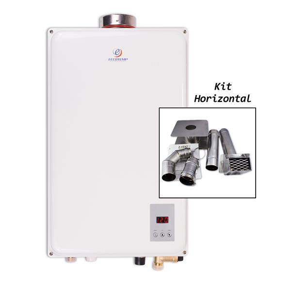 NOUVEAU 8L NG Natural Gas CHAUFFE EAU BAIN INSTANTANE