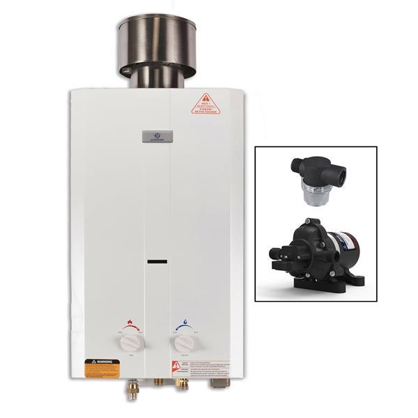 Eccotemp L10 Portable Tankless Water Heater - Eccoflo Pump