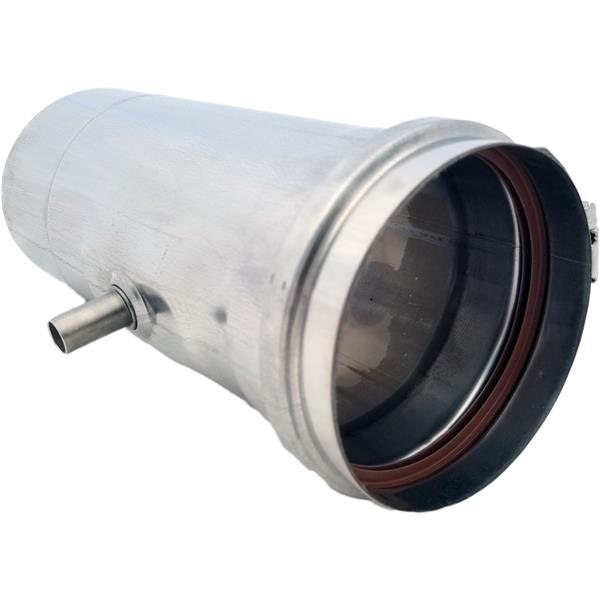 Z Flex Z Vent 4 In Stainless Steel Water Heater Horizontal