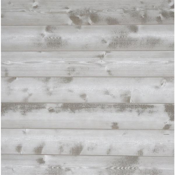 """Planches décoratives, Blanc magnolia d'époque, 1/2""""x 6"""""""