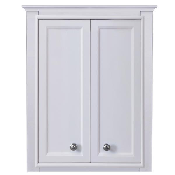 Golden Elite Milan 22.75-In x 33-In White Toilet Topper