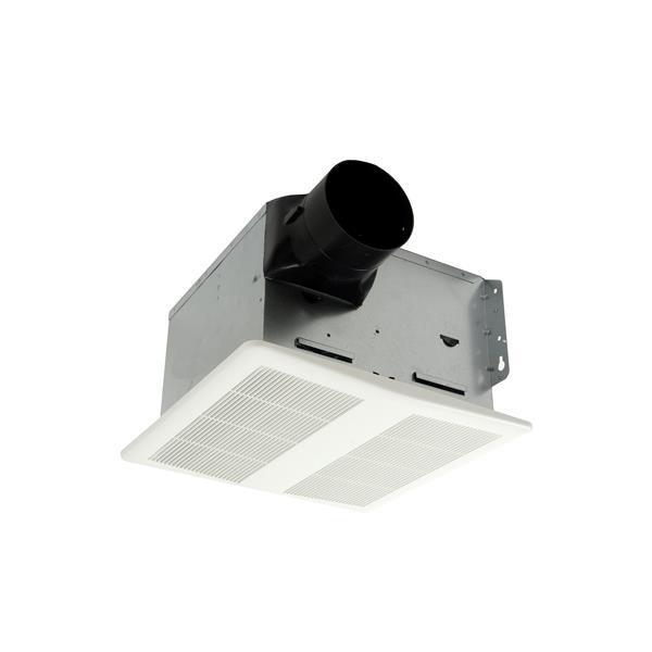 Hushtone Bath Fan with Light and Humidistat - 80 CFM