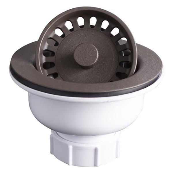 DECOLAV Basket Stainer for Quartz Kitchen Sink - 3 5