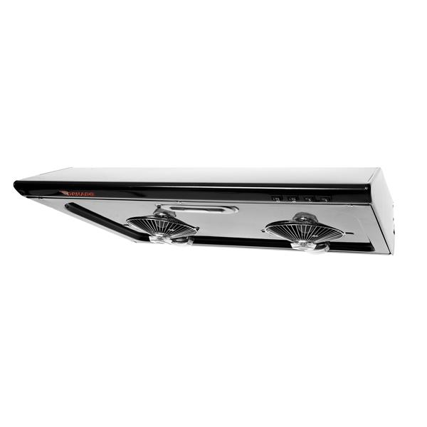 Hotte sous-armoire Maxair, 680 pcm, noir, 30''