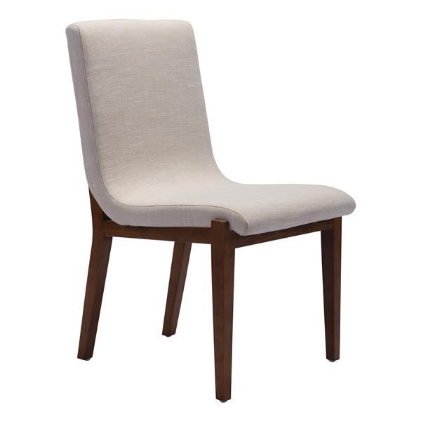 Chaise de salle à manger Hamilton de Zuo Modern, 19,3 po x ...