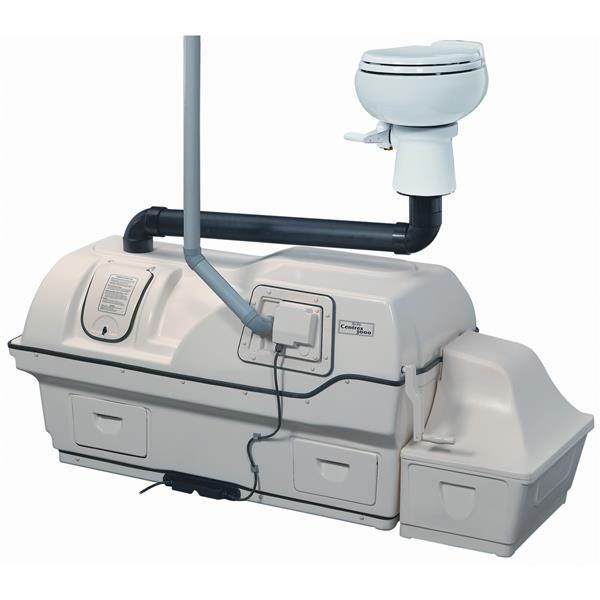Sun-Mar High Capacity Electric Central Composting Toilet System