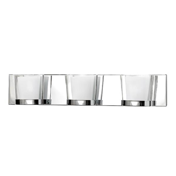 Russell Lighting 3 Light Wall Mounted  Vanity Light 23.5-in Polished Chrome