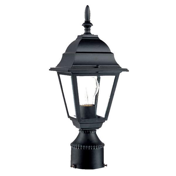 Lanterne extérieure Builders'  Choice , 1 ampoule, noir