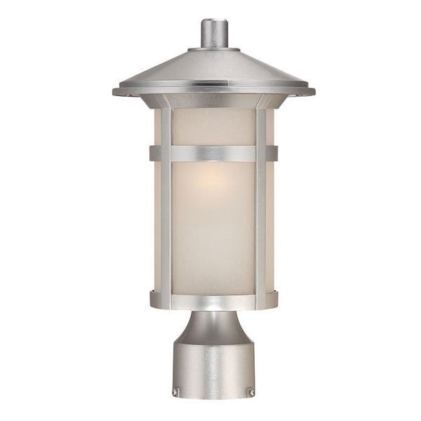 Lanterne extérieure Phoenix , 1 ampoule, MarbleX, chrome