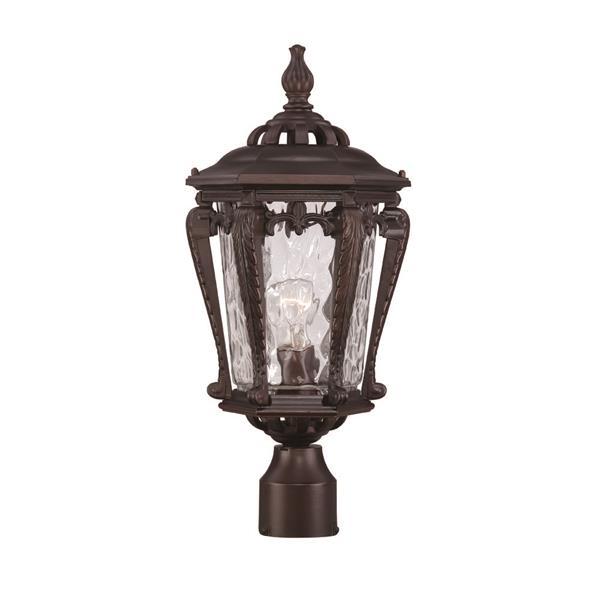 Lanterne extérieure Stratford , 1 ampoule, aluminium, bronze