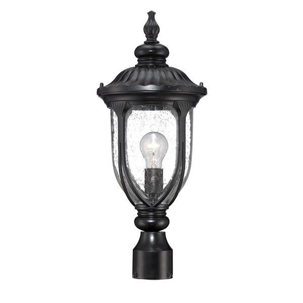 Lanterne extérieure Laurens , 1 ampoule, noir