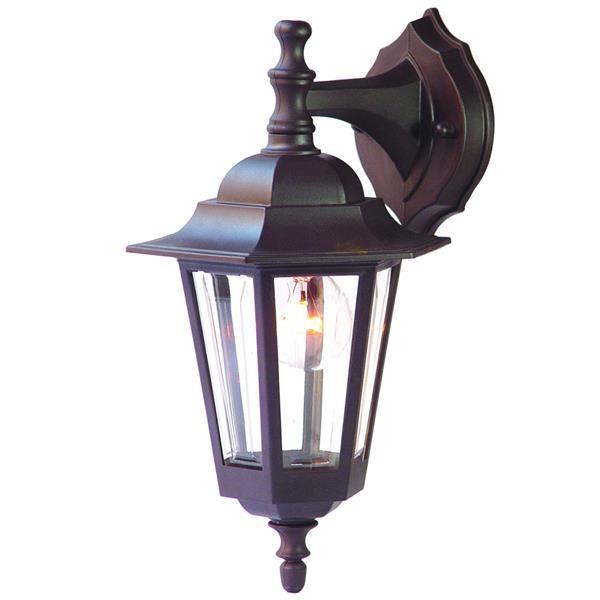 Acclaim Lighting Tidewater 14.5-in Architectural Bronze Durabrite Outdoor Wall Lantern
