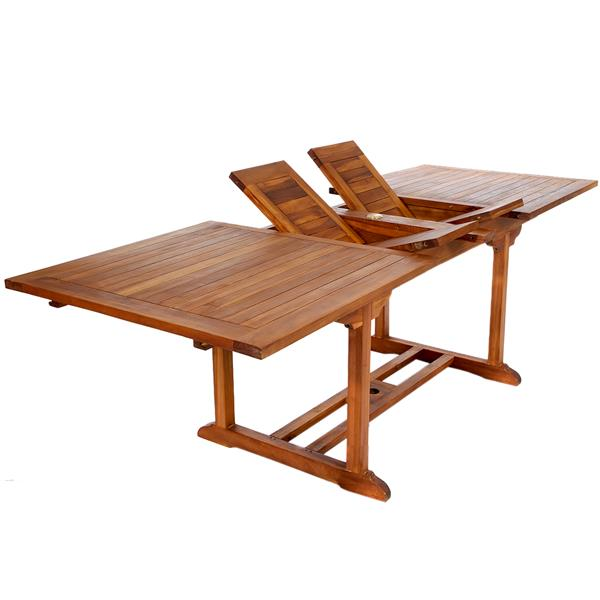 All Things Cedar 7-Piece Teak Dining Set