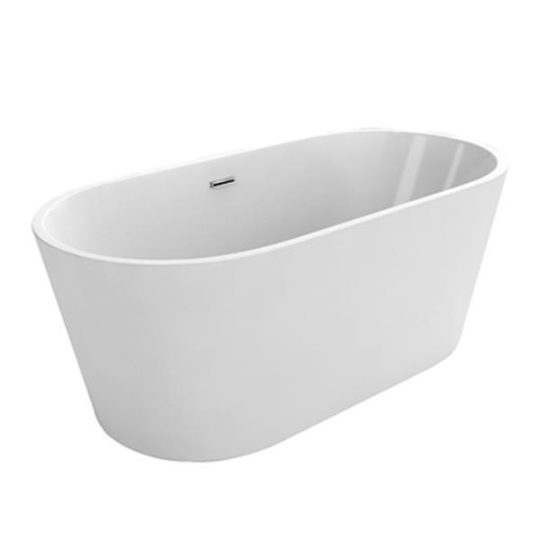 "Acri-tec Industries Monaco Freestanding Bathtub- 54"" - White"