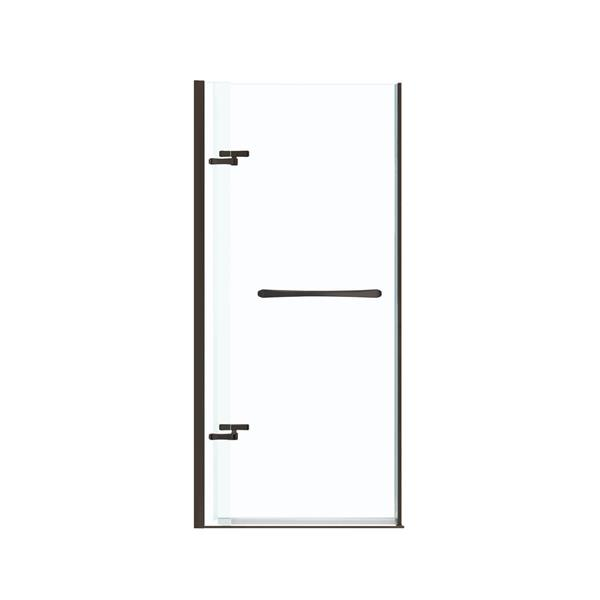 MAAX Reveal 33-36-in x 72-in Chrome Shower Door